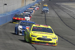 Paul Menard, Wood Brothers Racing, Ford Fusion Menards / FVP, Alex Bowman, Hendrick Motorsports, Che