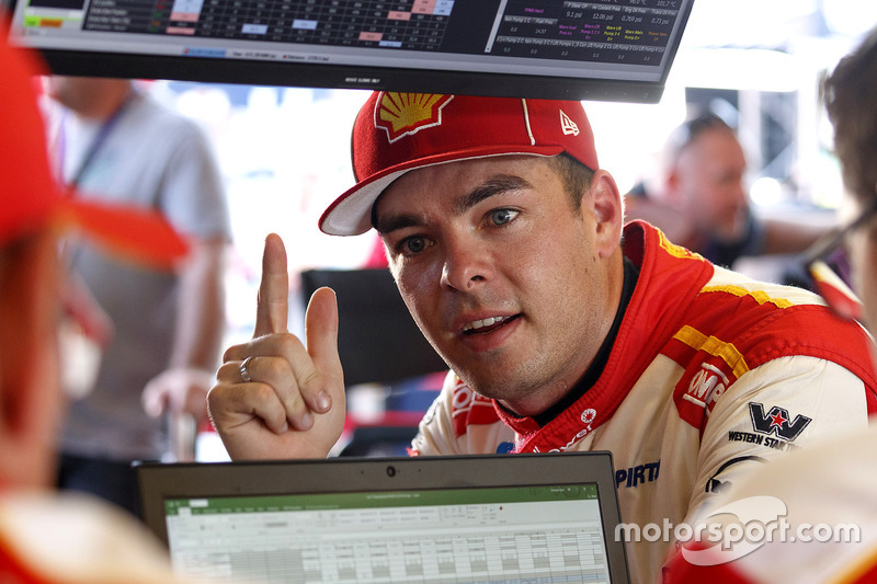 Supercars star Scott McLaughlin, DJR Team Penske Ford