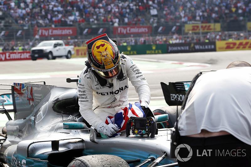 Campeón del Mundo 2017 Lewis Hamilton, Mercedes AMG F1