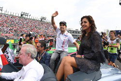 Giselle Zarur, Canal F1 Latin America con Sergio Perez, Sahara Force India