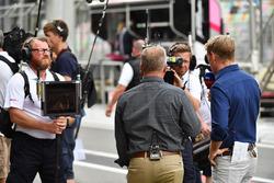 Johnny Herbert, Sky TV and Simon Lazenby, Sky TV