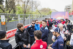 George Russell, ART Grand Prix, Nyck De Vries, PREMA Racing, Alexander Albon, DAMS, Nicholas Latifi, DAMS