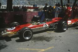 Graham Hill, Lotus 49B