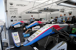 Team of Ben Hingeley, Hitech Bullfrog GP Dallara F317 - Mercedes-Benz