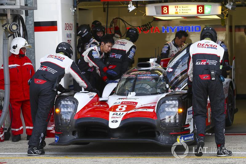 #8 Toyota Gazoo Racing Toyota TS050: Sebastien Buemi, Kazuki Nakajima, Fernando Alonso, Jose Maria L