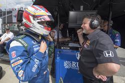 Carlos Munoz, Andretti Autosport Honda, mit Michael Andretti
