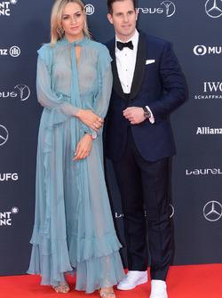 Carmen Jorda e Christoph Grainger-Herr, CEO di IWC Schaffhausen