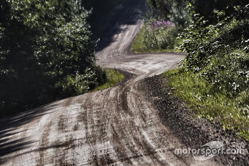 Ruta del Rally de Finlandia