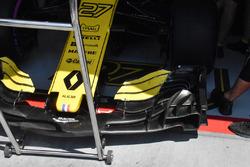 L'aileron avant de la Renault Sport F1 Team R.S. 18