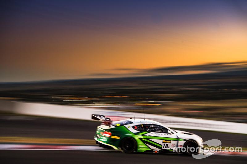 Bentley Team M-Sport, Bentley Continental GT3 (№18)