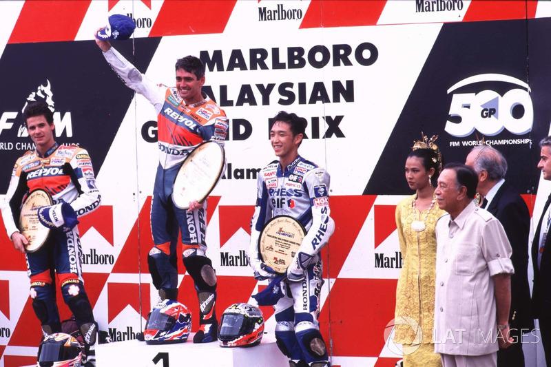 Mick Doohan y Alex Criville, auténticas leyendas del Repsol Honda