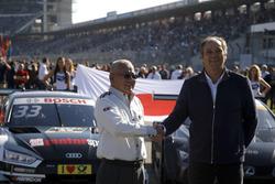 Masaki Bando, Chairman GTA and Gerhard Berger, ITR Chairman