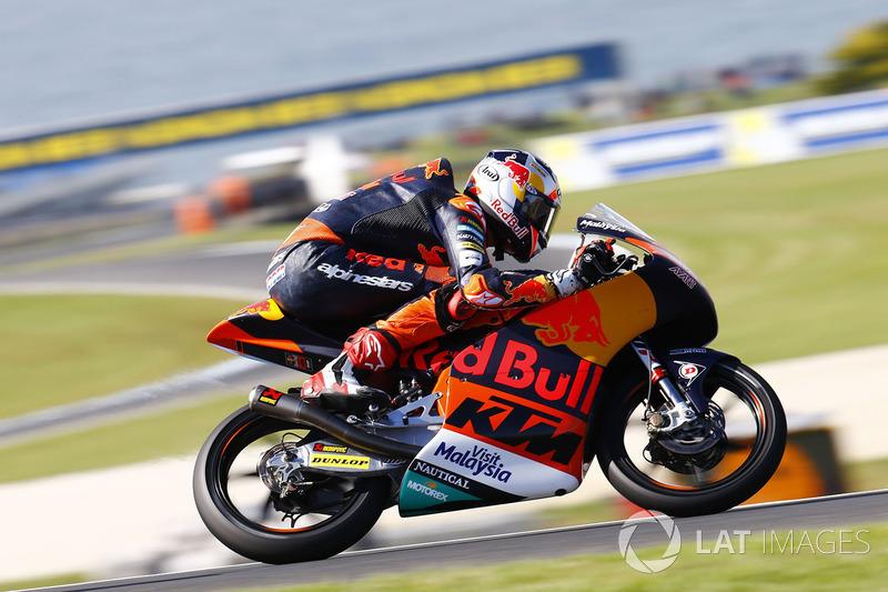Bo Bendsneyder, Red Bull KTM Ajo at Phillip Island