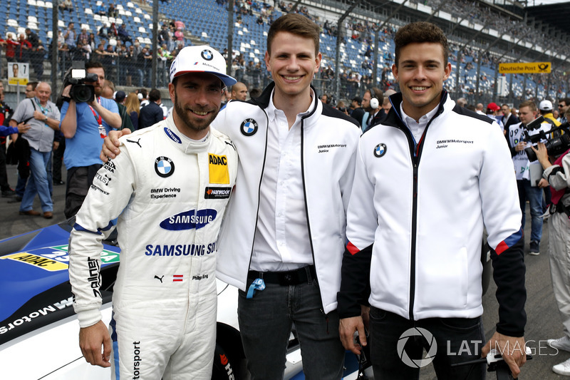 Philipp Eng, BMW Team RBM, Nico Menzel, Mikkel Jensen, BMW Motorsport Juniors