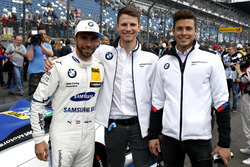 Philipp Eng, BMW Team RBM, Nico Menzel, Mikkel Jensen, BMW Motorsport Juniors