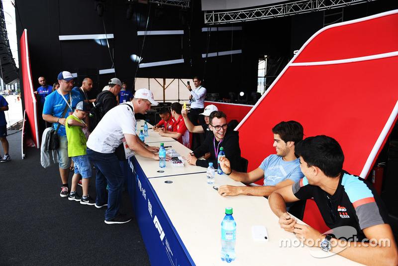 Anthoine Hubert, ART Grand Prix, Pedro Piquet, Trident, Juan Manuel Correa, Jenzer Motorsport
