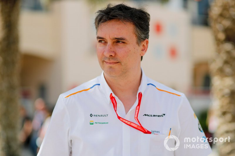 James Key, Technical Director, McLaren