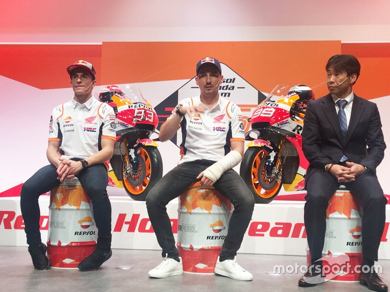 Марк Маркес, Хорхе Лоренсо, Repsol Honda Team, Тецухіро Кувата, директор HRC