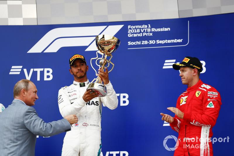 70 - GP de Rusia 2018, Mercedes
