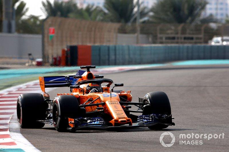 Карлос Сайнс-мол., McLaren MCL33