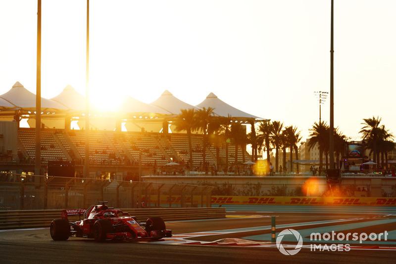 6. Sebastian Vettel, Ferrari SF71H