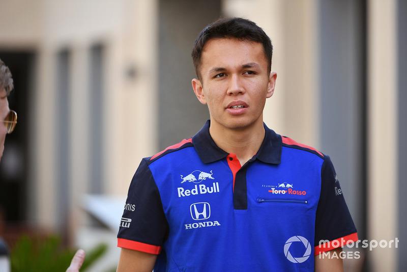 Alexander Albon, Scuderia Toro Rosso (Llega de Fórmula 2)