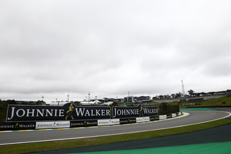 Circuit detail, including Johnnie Walker advertising signage