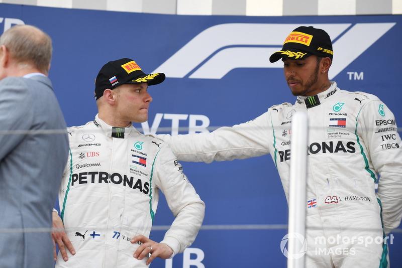 5. Lewis Hamilton in de Grand Prix van Rusland