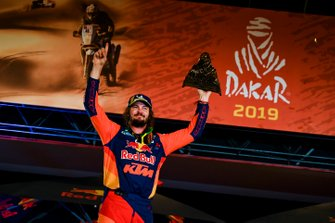 Podio: Red Bull KTM Factory Racing KTM: Toby Price