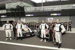 Maro Engel, Bernd Schneider, Austin Cindric, Erebus Motorsport Mercedes and David Reynolds, Thomas Jäger, Nico Bastian, Erebus Motorsport Mercedes