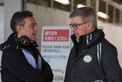 Mario Isola, Pirelli Sporting Director and Ross Brawn, Formula One Managing Director of Motorsports