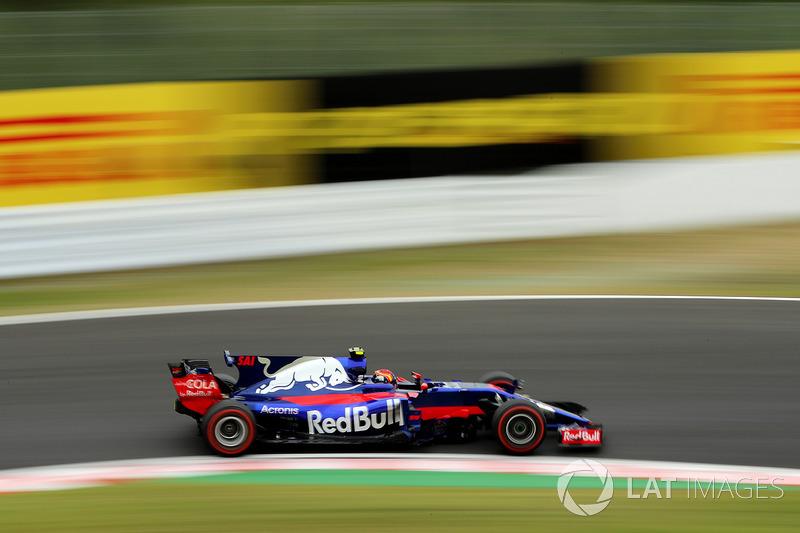 19: Carlos Sainz Jr., Scuderia Toro Rosso STR12 (incluidas 20 posiciones de sanción)