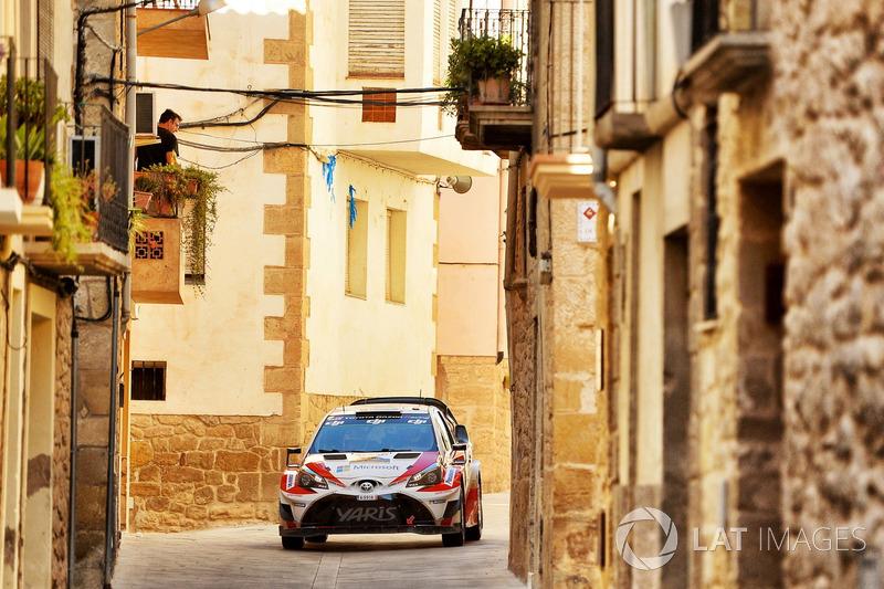 Яри-Матти Латвала и Миикка Анттила, Toyota Yaris WRC