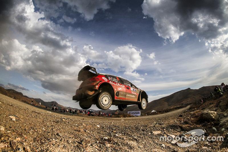 4. Stéphane Lefebvre, Gabin Moreau, Citroën C3 WRC, Citroën World Rally Team