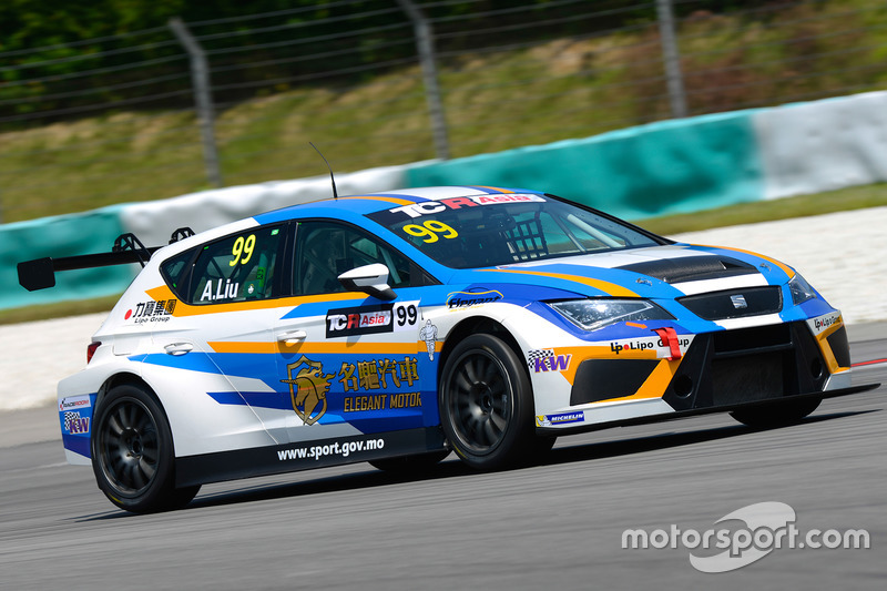 Alex Liu Lic Ka, Elegant Racing Team, SEAT Leon TCR