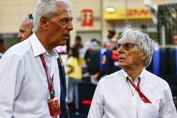 Marco Tronchetti Provera, Executive Vice Chairman en Chief Executive Officer, Pirelli, Bernie Ecclestone, Chairman Emiritus van Formule 1