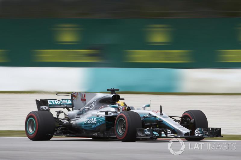 Льюис Хемілтон, Mercedes AMG F1 W08