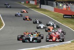 Start action, Lewis Hamilton, Mercedes F1 W08