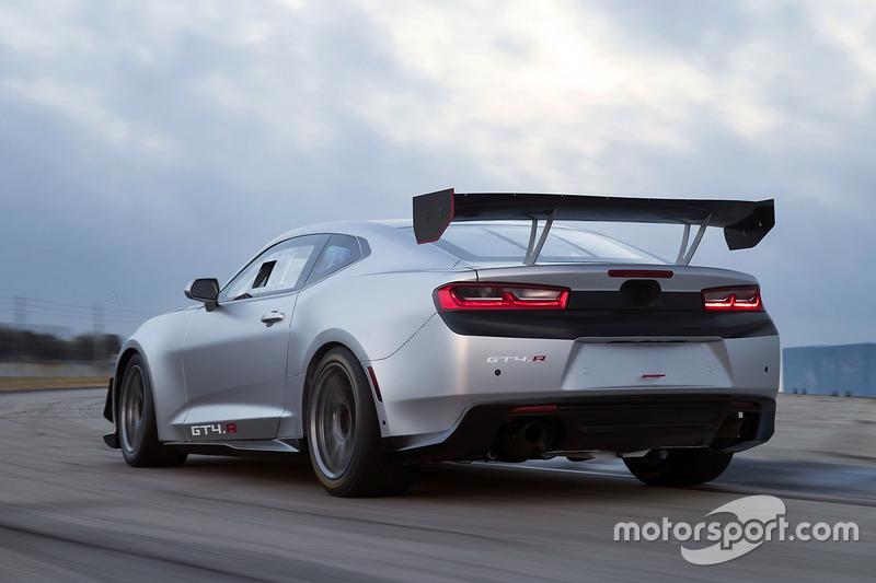 Revelación Chevrolet Camaro GT4.R