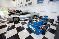 Nelson Piquet's garage tour
