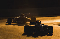 Marcus Ericsson, Sauber C36, leads Sebastian Vettel, Ferrari SF70H