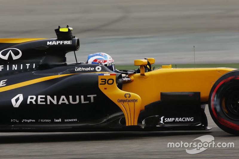 14 місце — Джоліон Палмер, Renault. Умовний бал — 6,717