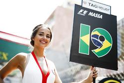 Gridgirl für Felipe Massa, Williams