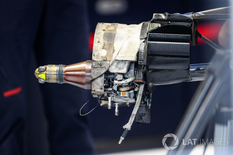 Red Bull RB13: Bremse