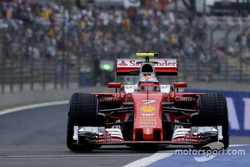 3: Kimi Raikkonen, Ferrari SF16-H