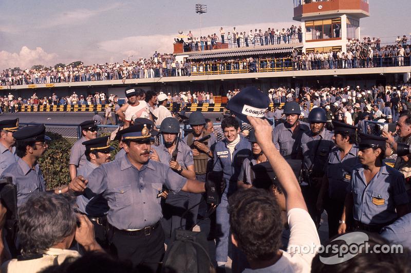 Ganador, Jody Scheckter, Wolf Ford y su seguridad