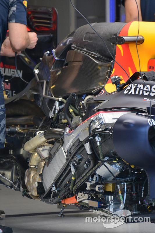 Red Bull Racing motor detail