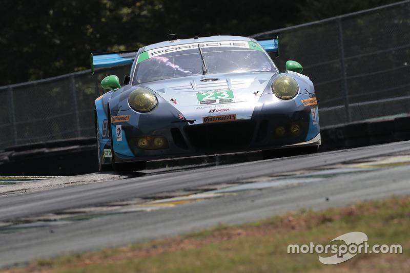 #23 Team Seattle/Alex Job Racing Porsche GT3 R: Mario Farnbacher, Alex Riberas