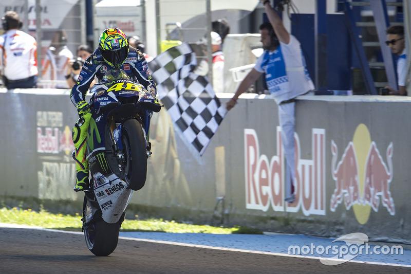 Ganador Valentino Rossi Yamaha