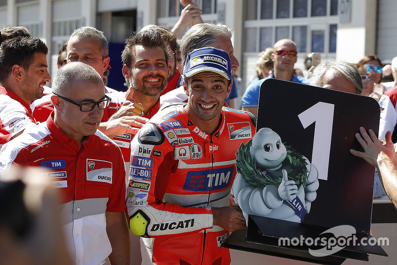 Poleman Andrea Iannone, Ducati Team